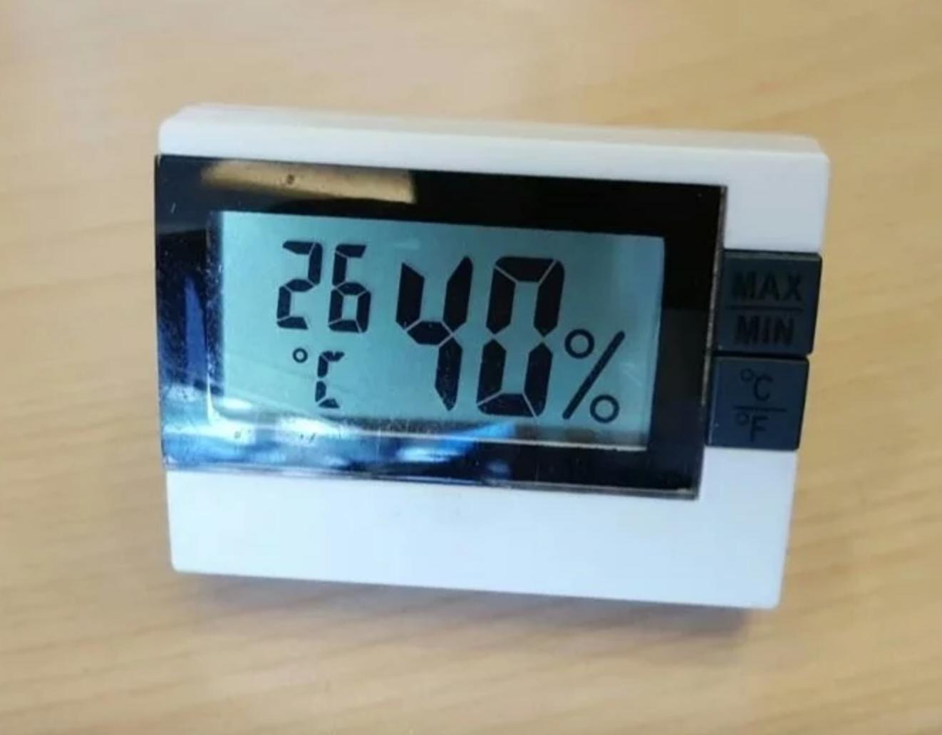 小型溫濕度計