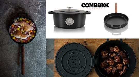 Combekk homeware - cast iron pots for hipsters