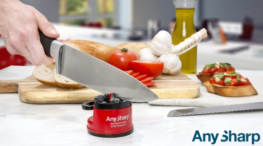 AnySharp super knife sharpener