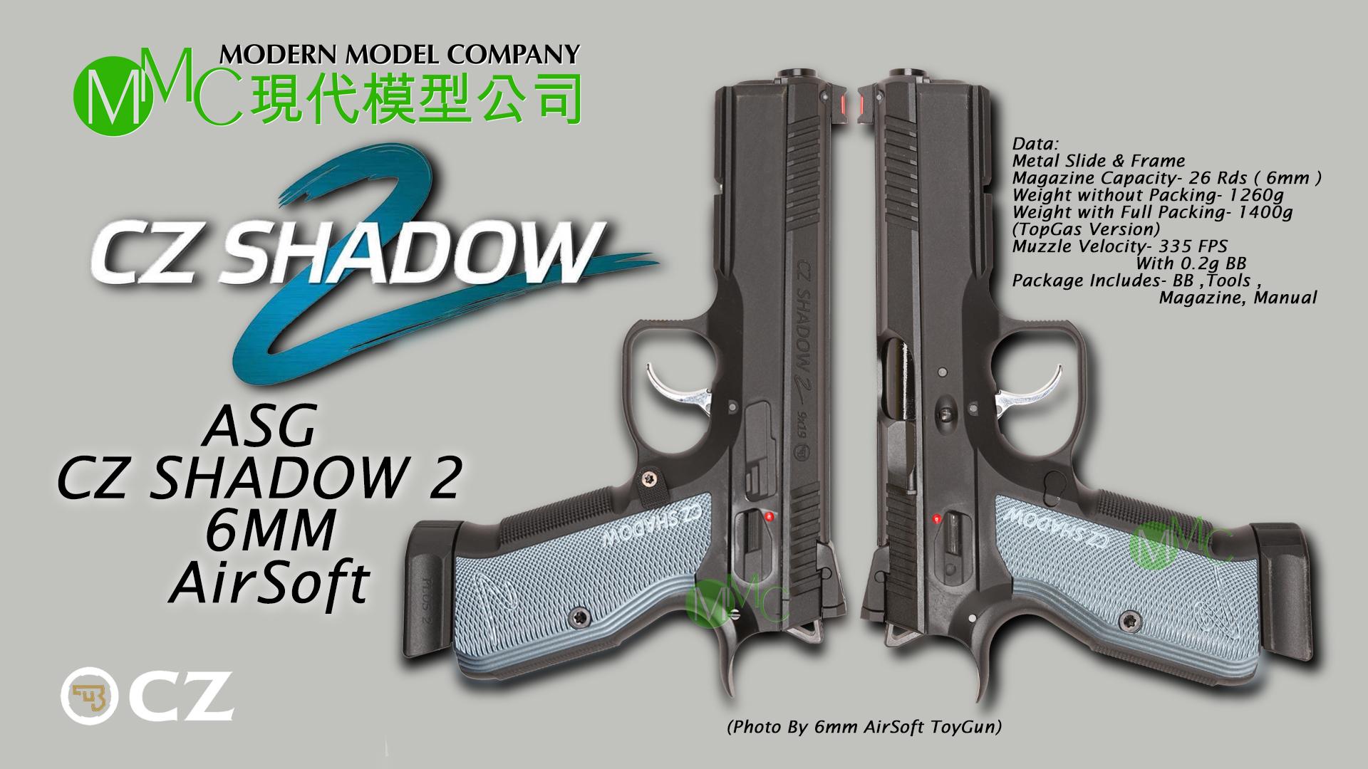 ASG CZ 75 SP-02 Shadow 2