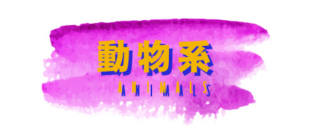 動物系 animals