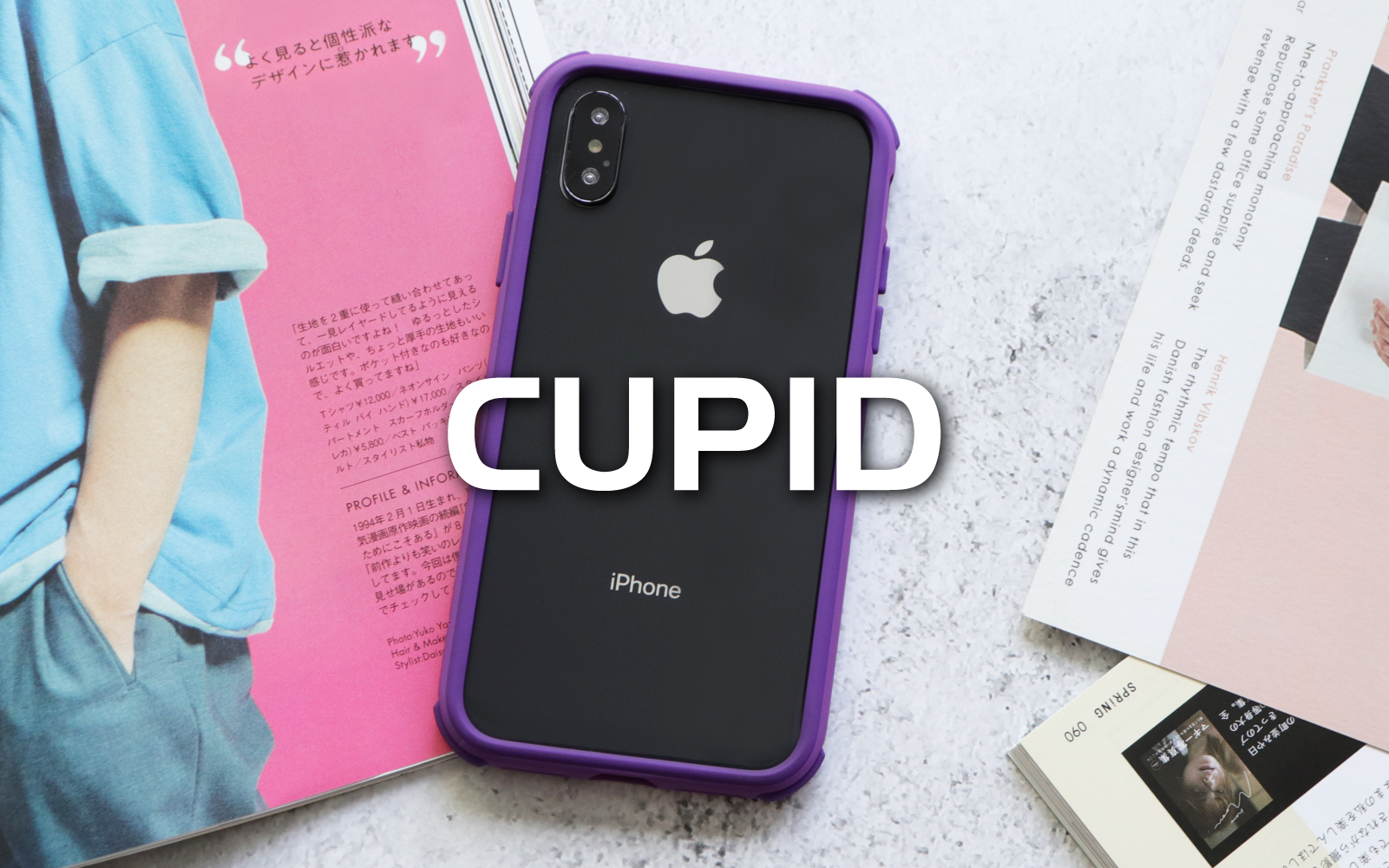 SOLiDE Cupid Series for iPhone