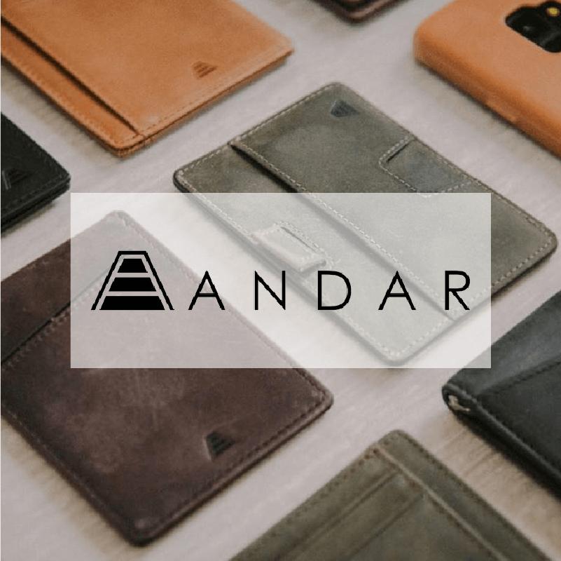 Andar 創意收納皮夾