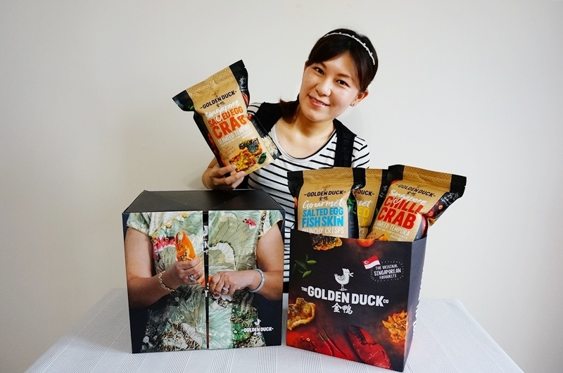 美食部落客Peko推薦,金鴨鹹蛋黃零食