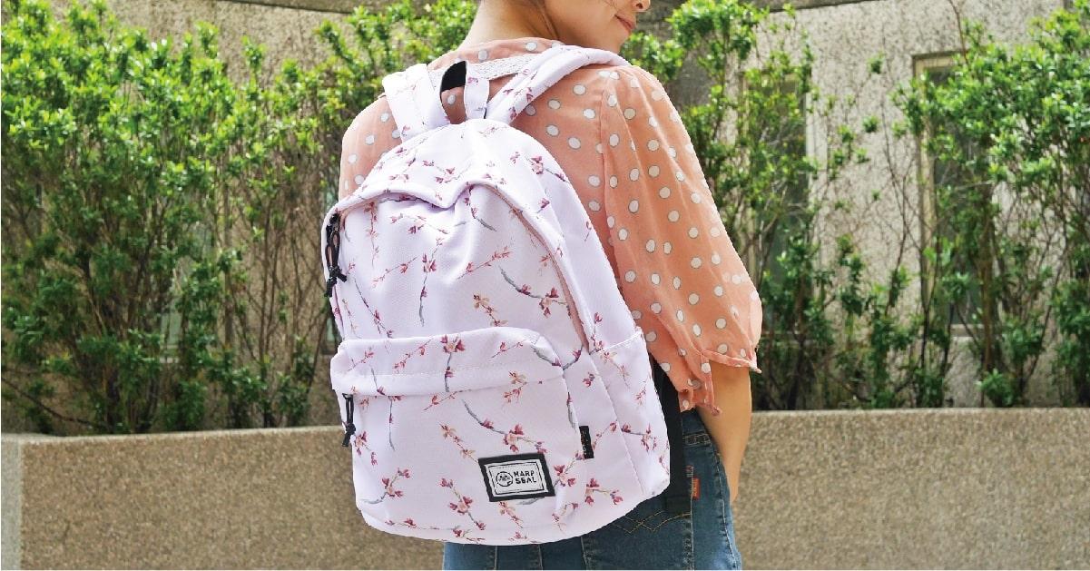 兼具外貌及旅遊時最需要的防盜功能的後背包