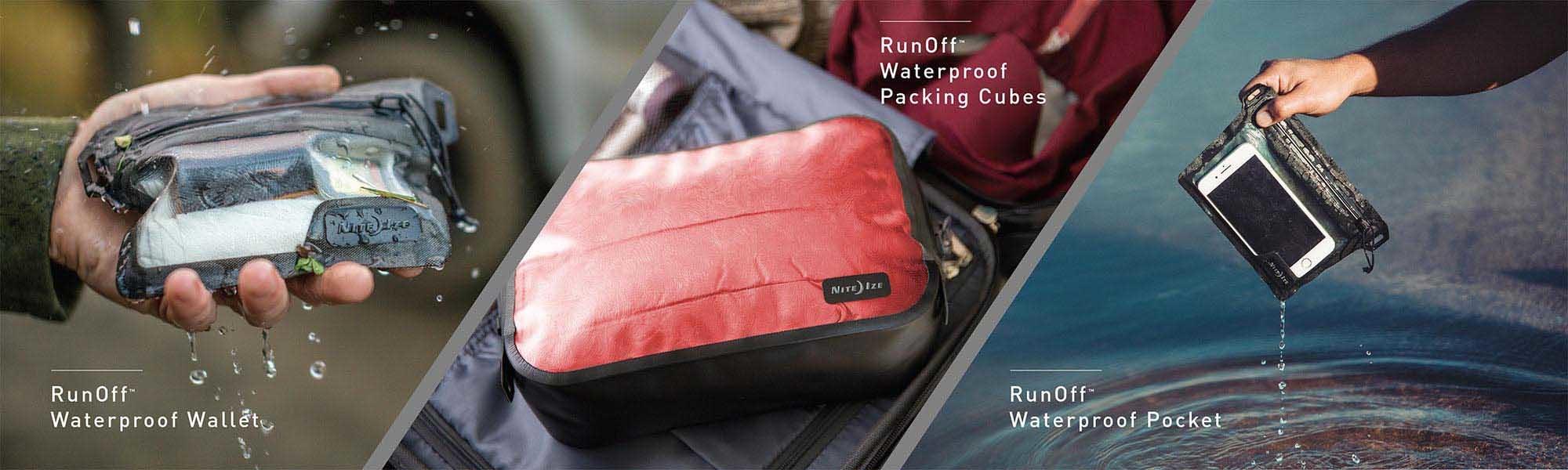 niteize, pouch, bag, waterproof