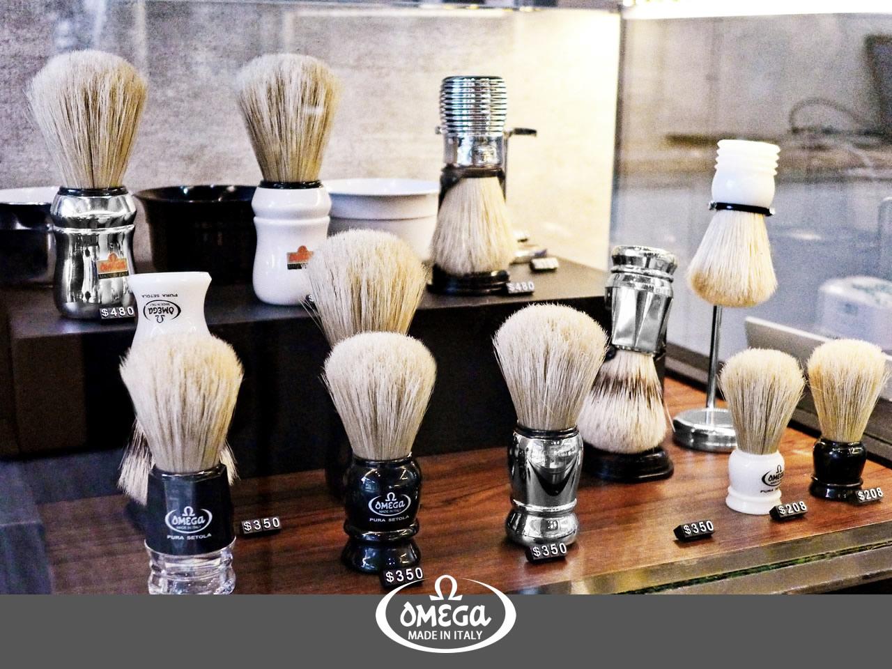 OMEGA傳統刮鬍系列商品