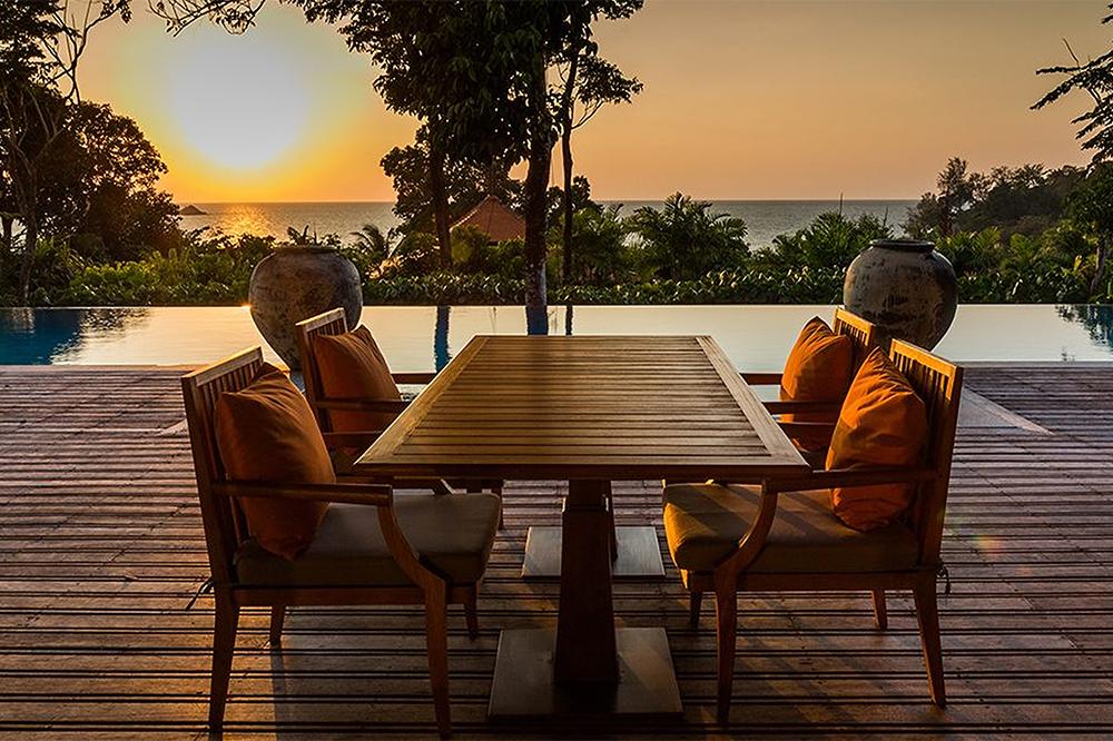 泰國trisara特里薩拉飯店3臥室