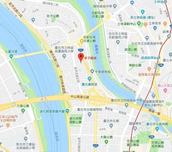 幸子眼鏡Google地圖
