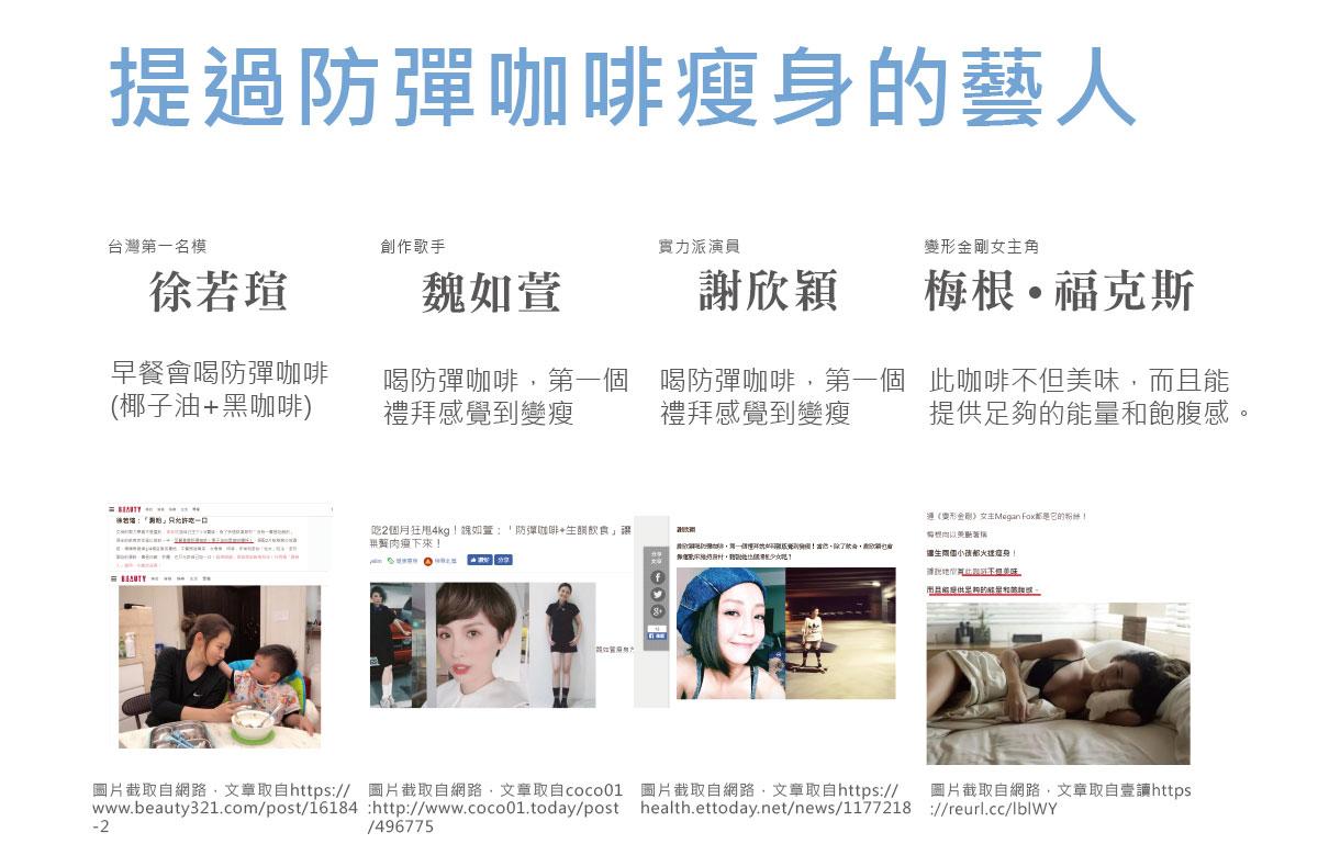 徐若瑄、魏如萱、謝欣穎-他們都用過防彈咖啡瘦身-簡單入喉膠原蛋白防彈咖啡