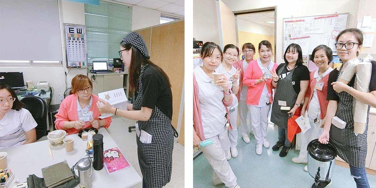 團隊接獲委託人-送給正在值勤的辛苦護理師-簡單入喉膠原蛋白防彈拿鐵咖啡