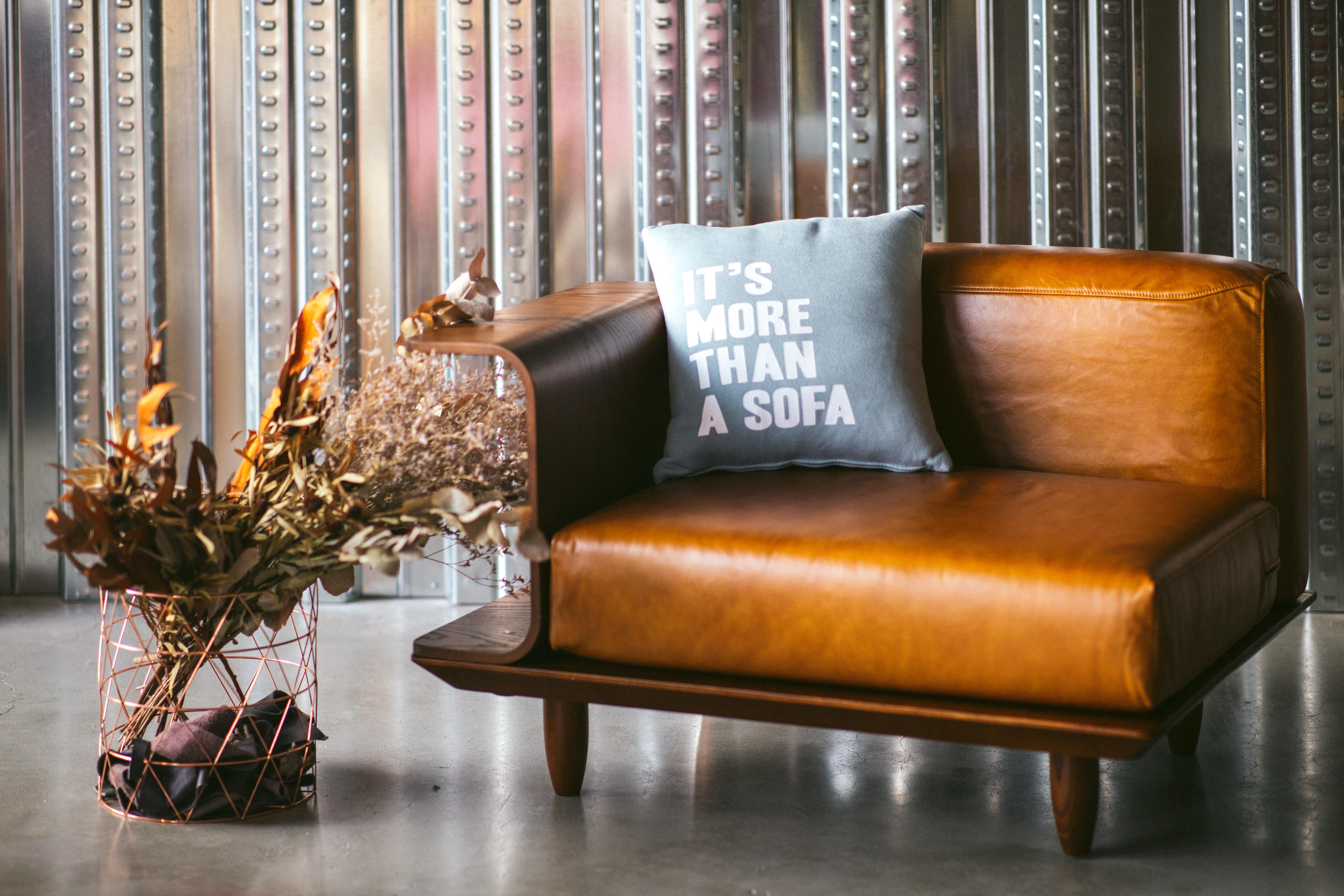 單人,家庭,沙發,皮革