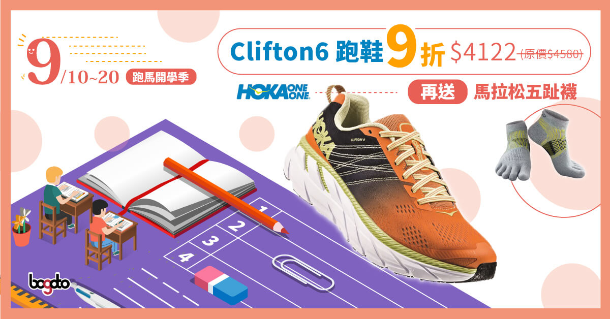 HOKA ONE ONE CLIFTON6