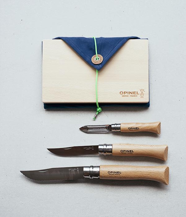 Nomad 遊牧人戶外廚具 OPINEL 法國  廚刀 砧板 快乾布 攜帶式料理工具