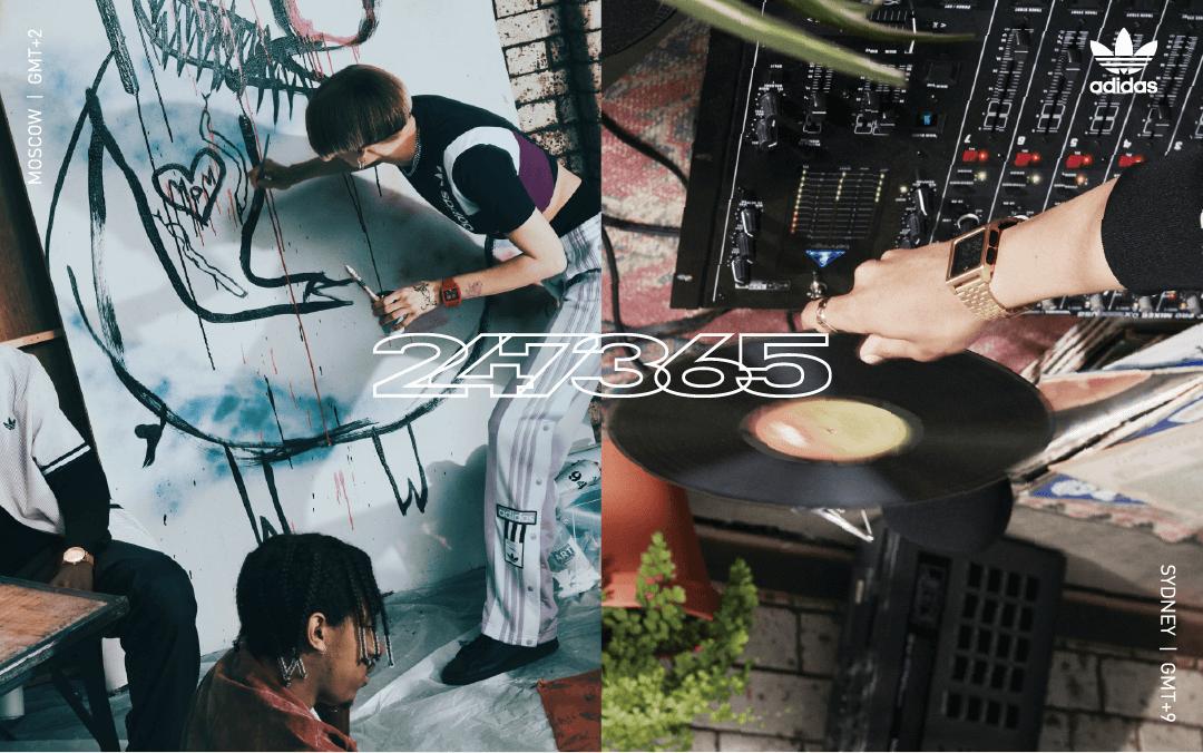 Adidas 復古電子潮流手錶全新款式熱賣中