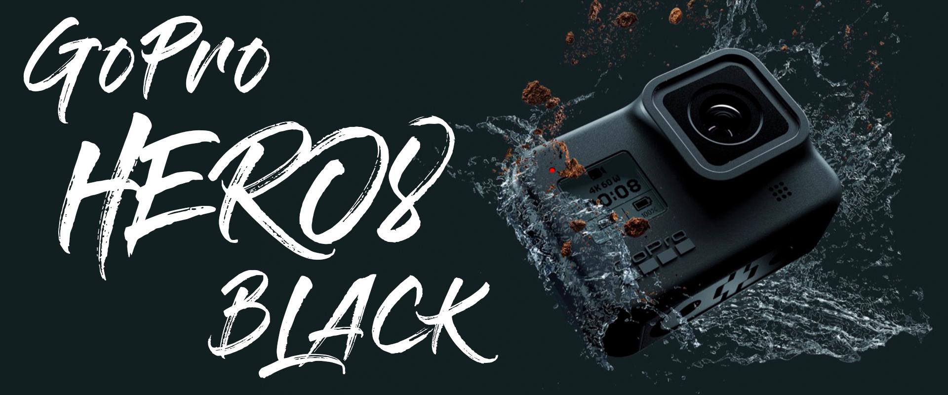 GoPro Hero8 Black強勢降臨!擁有更流暢的防手震 Liveburst超強功能 加強夜拍低光拍攝 夜間縮時攝影 facebook直播串流高達1080P