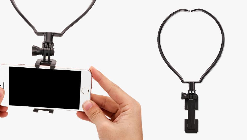 第一人稱視角 項圈頸掛式手機支架