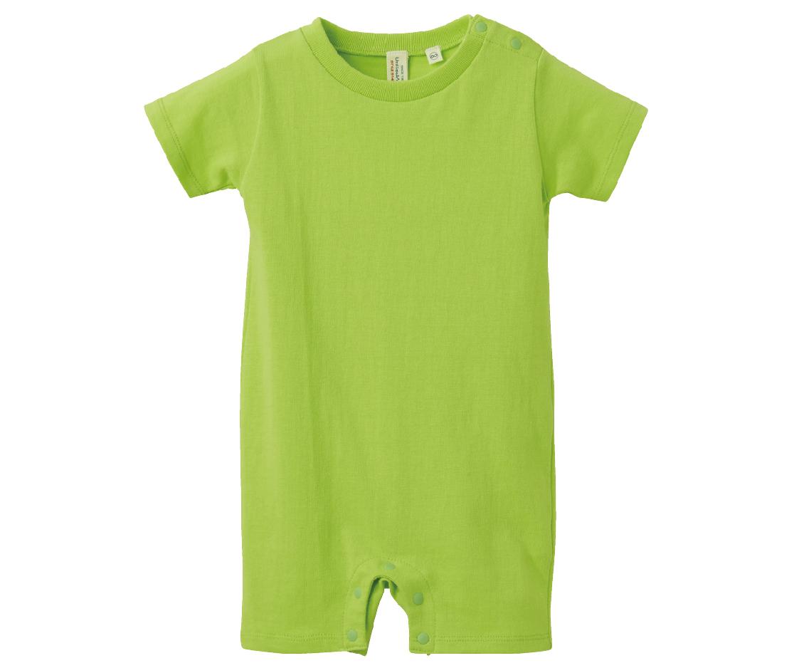 UnitedAthle 3514802 - 5.6oz 黃綠色純棉嬰兒包屁衣