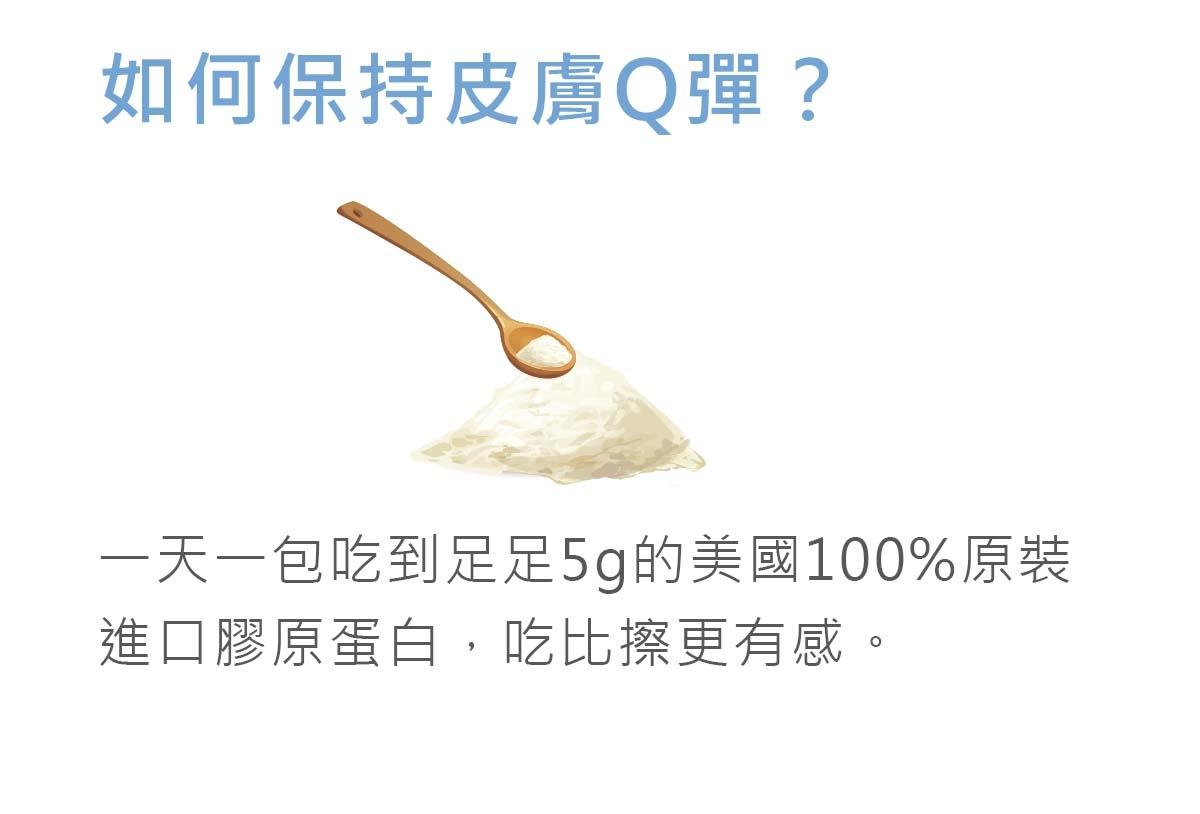 如何保持皮膚Q彈?一天一包吃到足足5g的美國原裝的膠原蛋白-吃比擦更有感-簡單入喉膠原蛋白防彈拿鐵咖啡