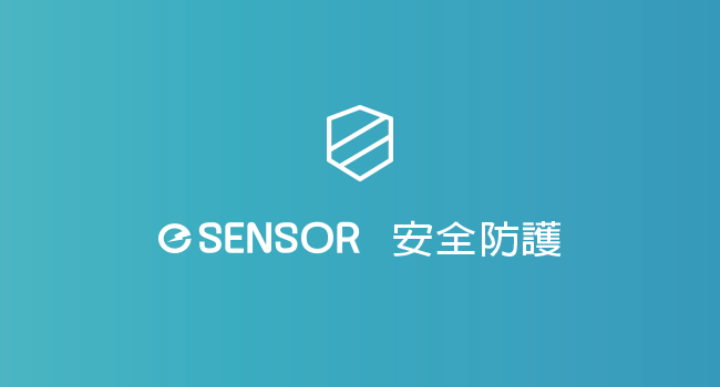 e Sensor 安全防護