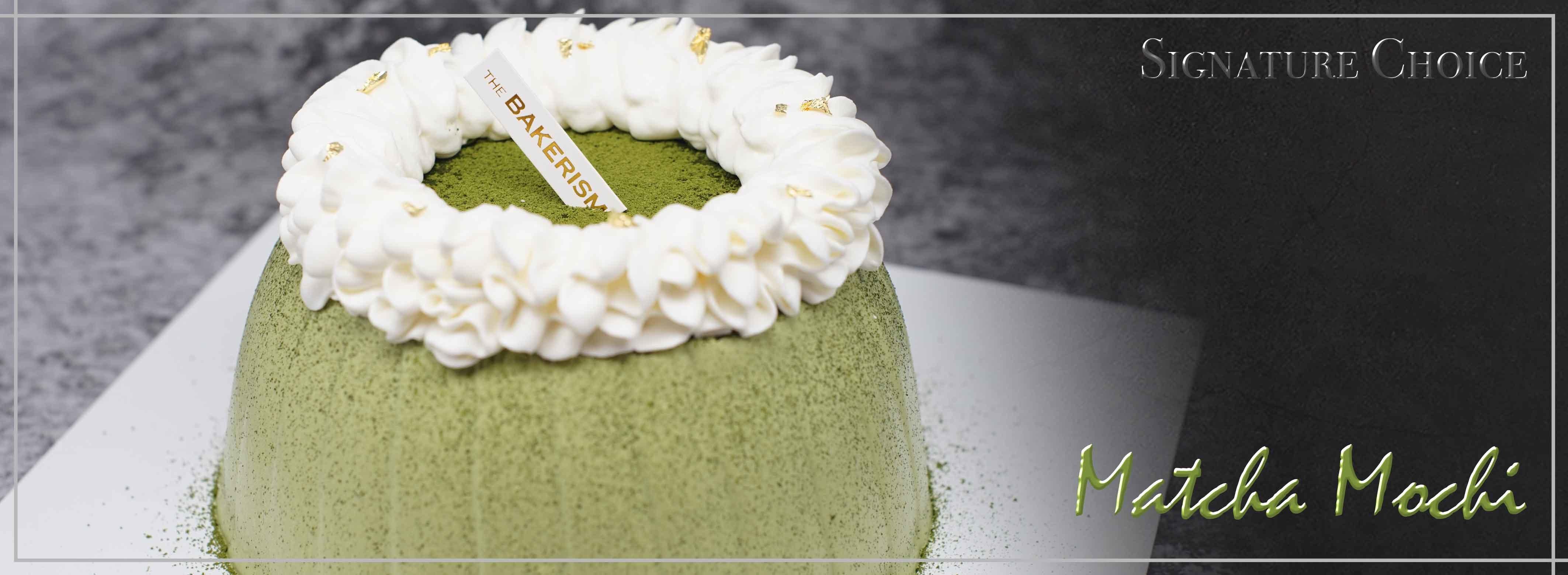 Signature Choice - Matcha Mochi Shortcake