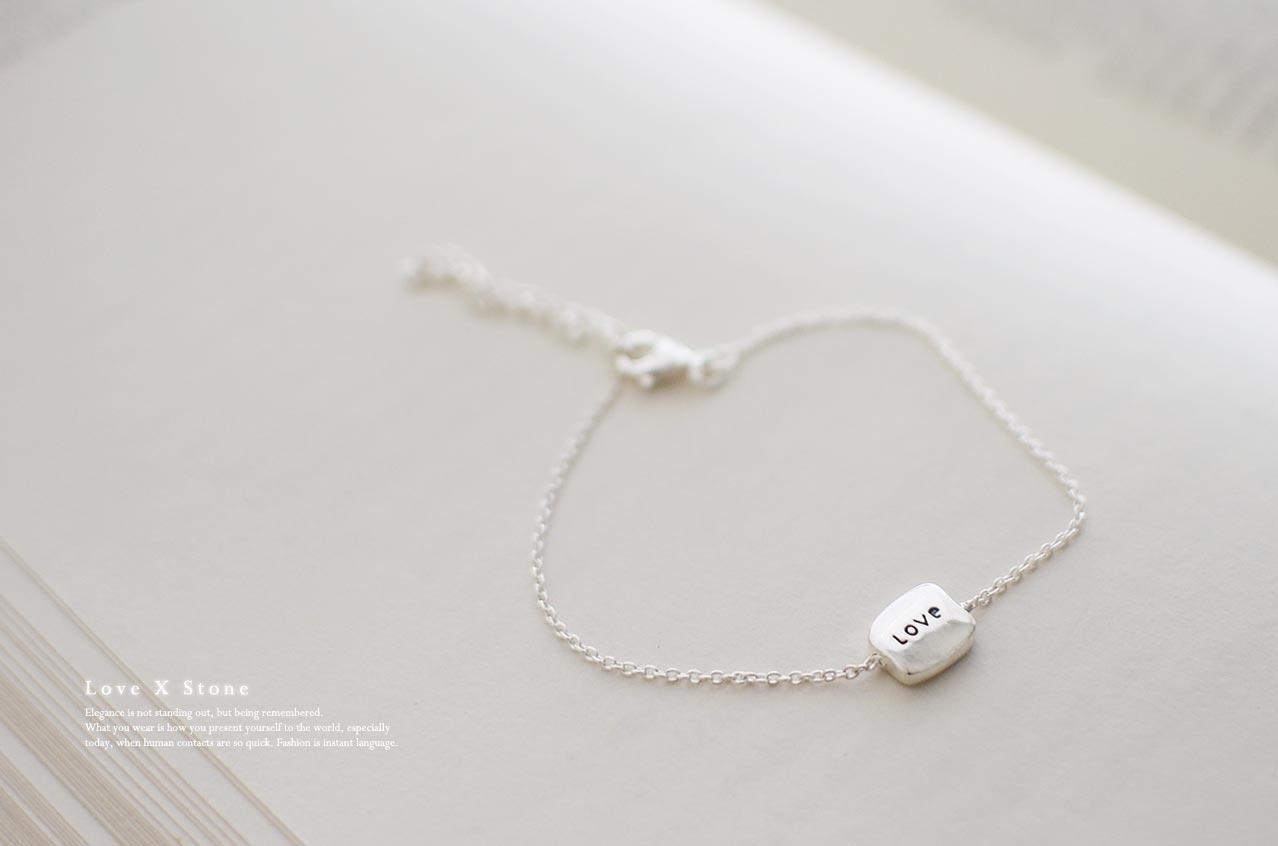 Love純銀手鍊