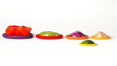 Food Hugger,食物保鮮套,食材保鮮,食材,食物,食物保鮮,保鮮膜,環保,塑膠袋,Food Hugger食物保鮮套