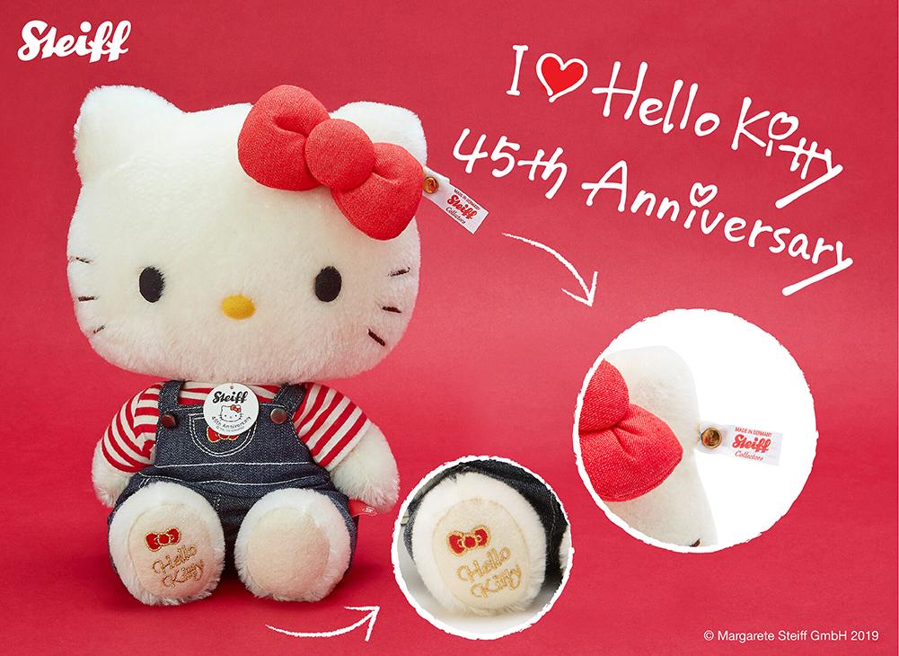 Steiff x Hello Kitty plush