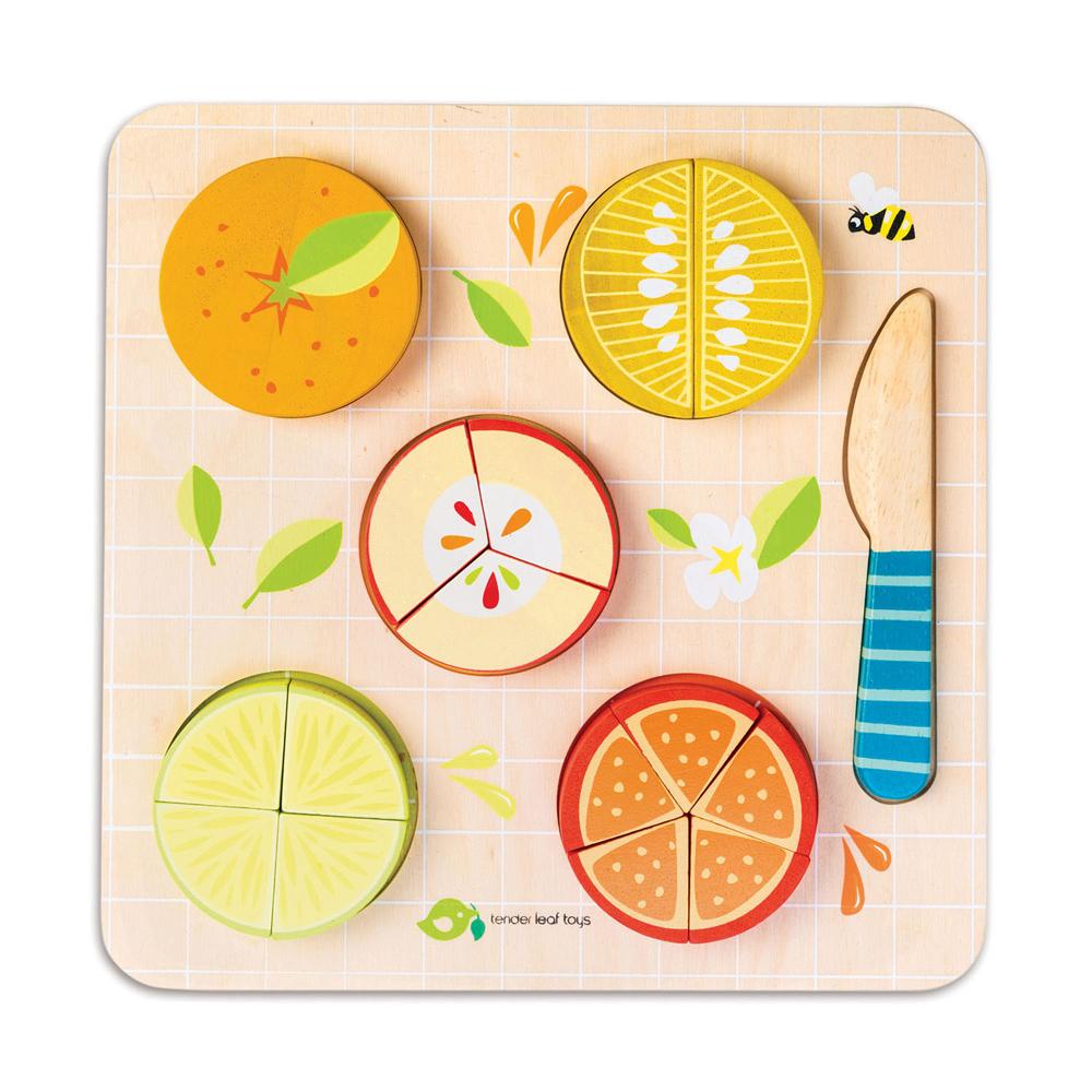 香甜水果益智拼圖