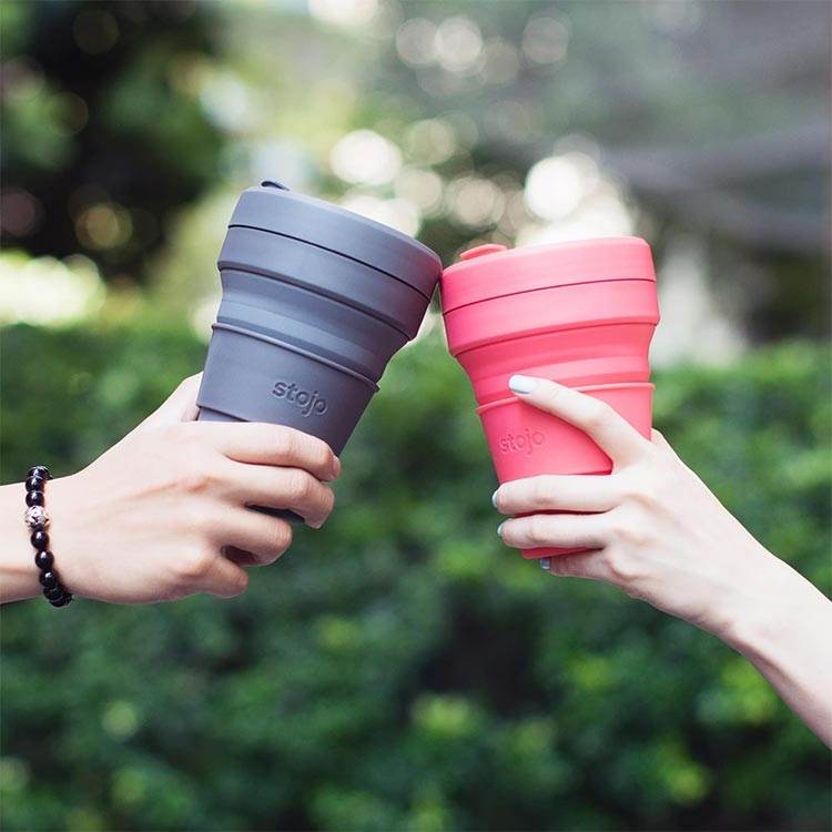 stojo,環保杯,吸攜杯,伸縮杯,交換禮物,聖誕節