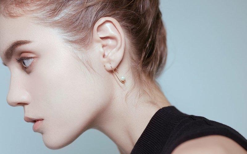 beq pettina, 耳環,珍珠