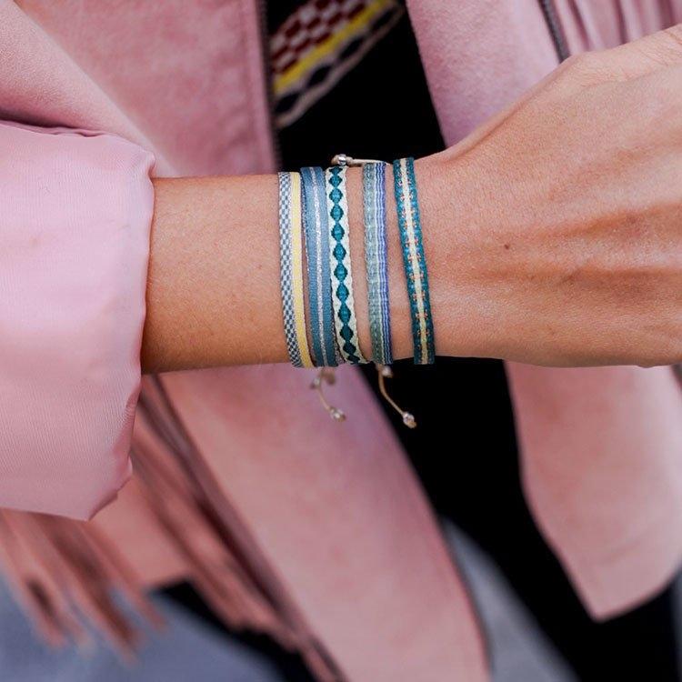 guanabana,wayuu包,孫芸芸,韓星同款,編織包,水桶包,聖誕節,交換禮物,禮物,閨蜜手環,許願繩,編織手環
