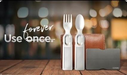 GoSun Flatware, 卡片型環保餐具,環保餐具,環保,餐具,卡片,GoSun Flatware卡片型環保餐具
