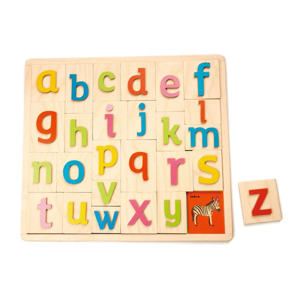字母圖片學習拼圖