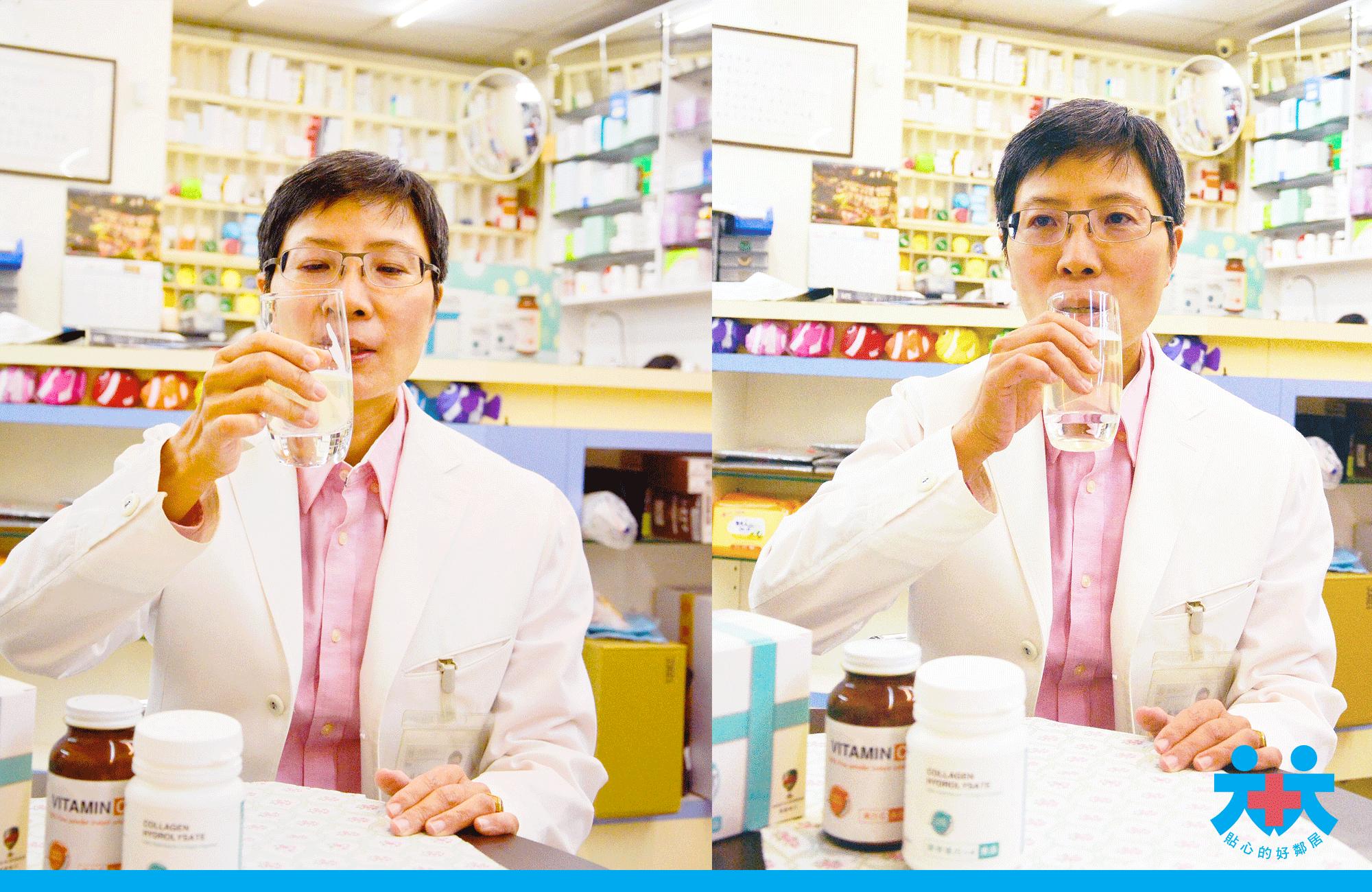 洪秋楓藥師指出優質膠原蛋白喝起來無味道,水解膠原蛋白推薦,膠原蛋白