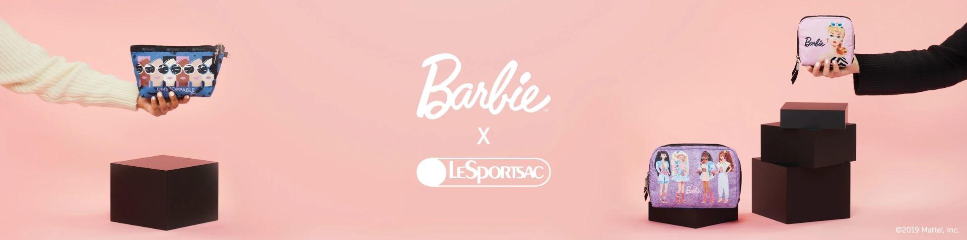 barbie, barbiexlesportsac,芭比聯名,芭比