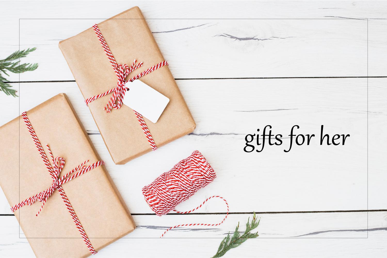 Gift for her 給她的禮物
