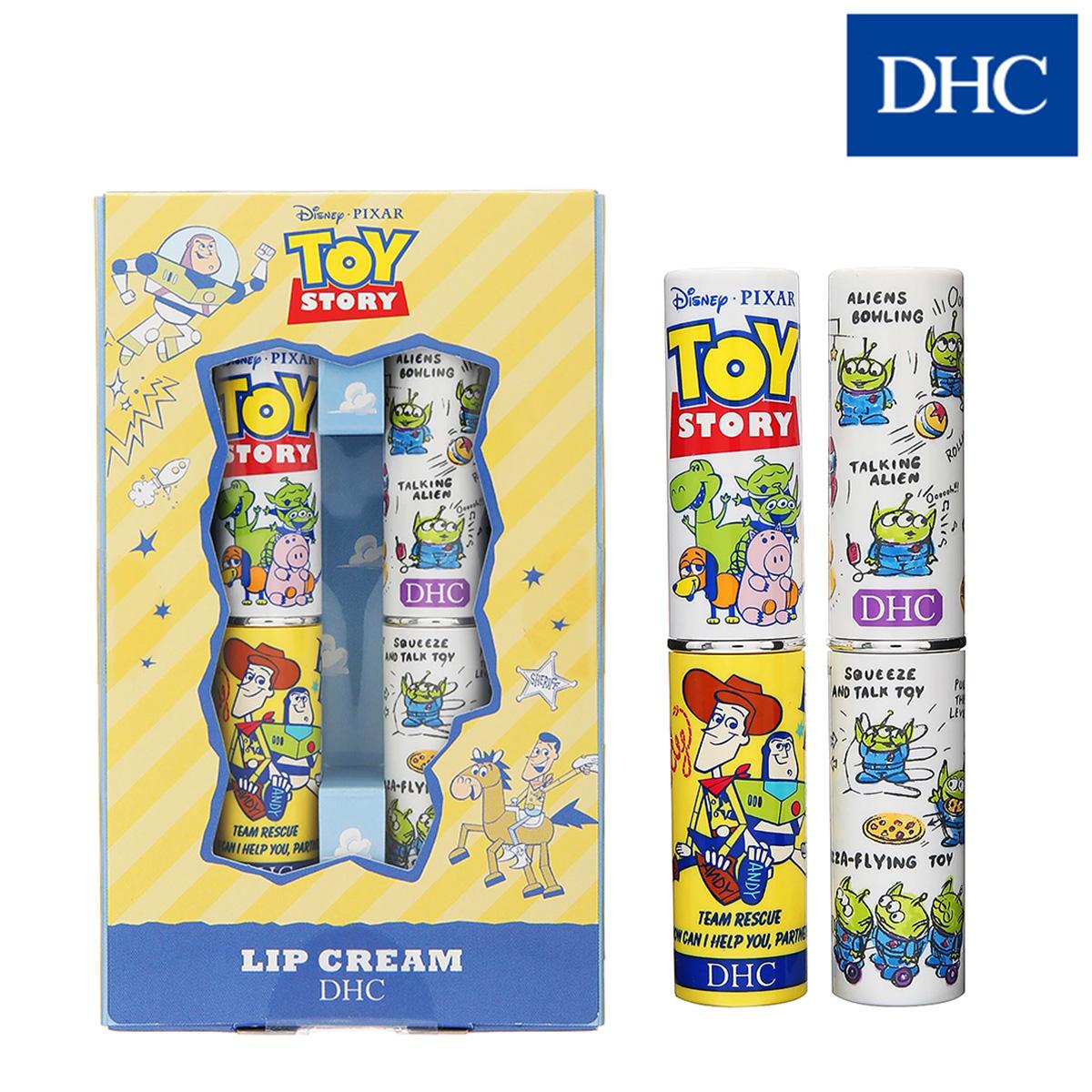 DHC 純欖護唇膏 玩具總動員限定版 二入組(1.5gx2) 禮盒組