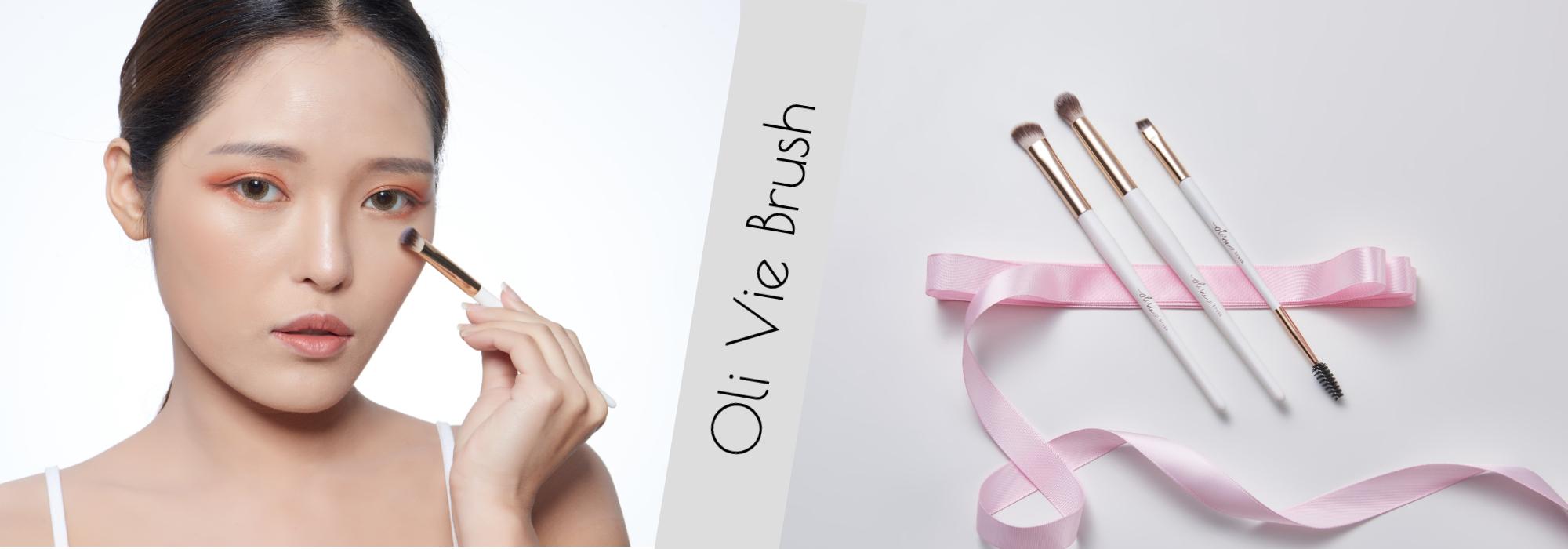 彩妝刷具,義式刷具,零殘忍刷具,非動物毛刷具,Oli Vie,歐妞,粉底刷,腮紅刷,眼影刷,修容刷,蜜粉刷,眉刷,超凡纖維,完美妝效,友善製造