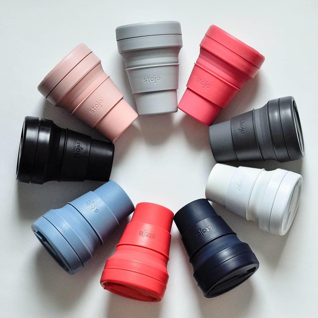 stojo,環保杯,吸攜杯,伸縮杯