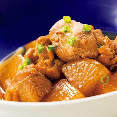 燉雞肉與蘿蔔
