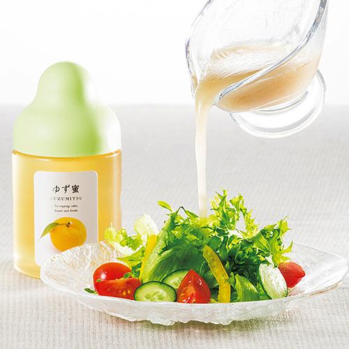 使用柚子蜜的洋蔥沙拉醬