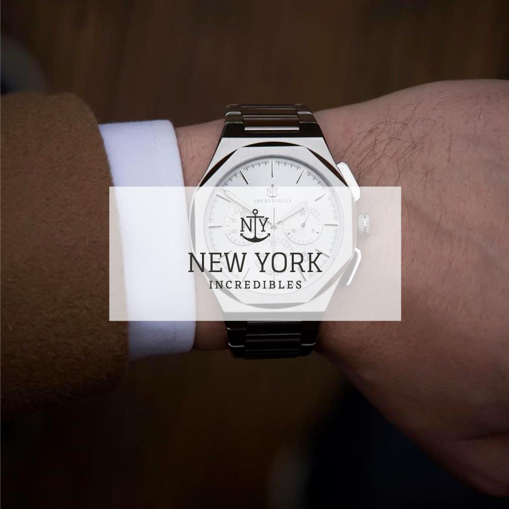 NY Incredibles 都會男子必備錶款