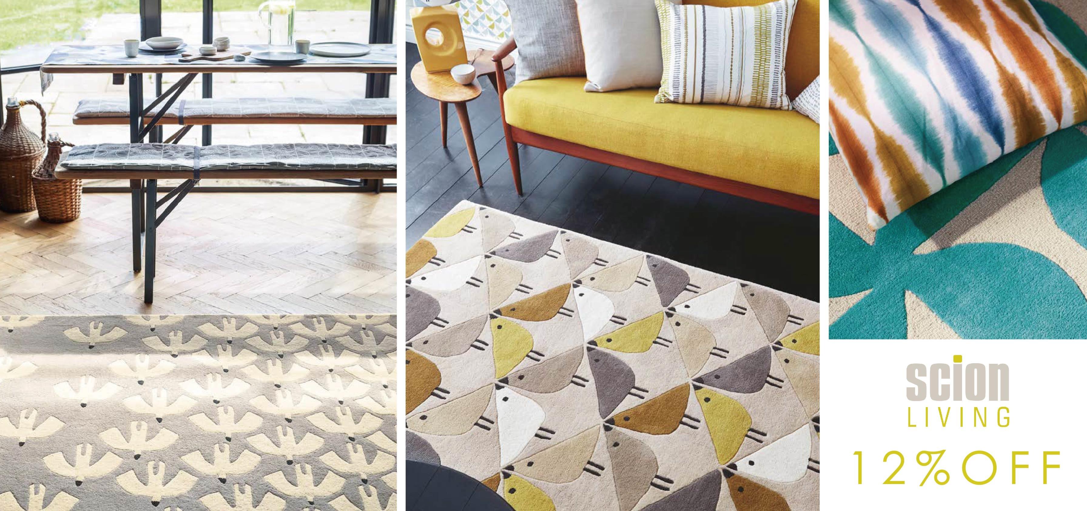 scion,英國進口條毯,地毯