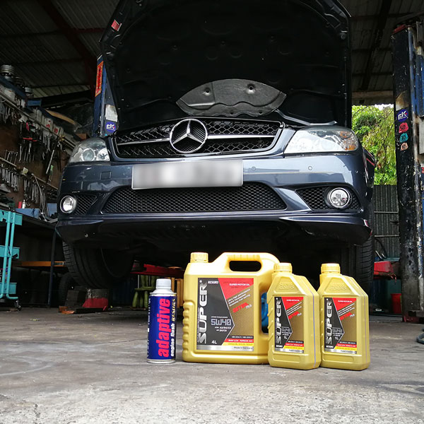 mercedes benz c200 w204 super resurs motor oil 5w40 adaptive engine flush