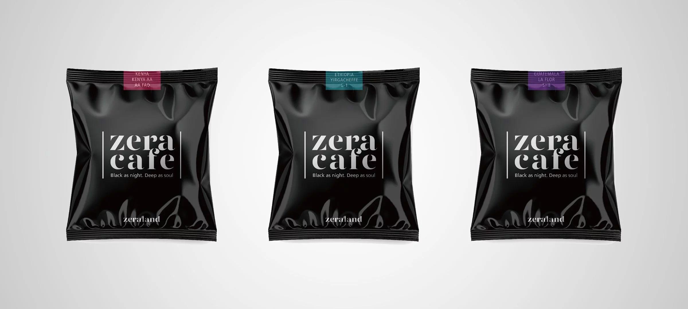 ZeraCafe單品濾掛咖啡,三款風味:品味耶加、自由花神、率性肯亞