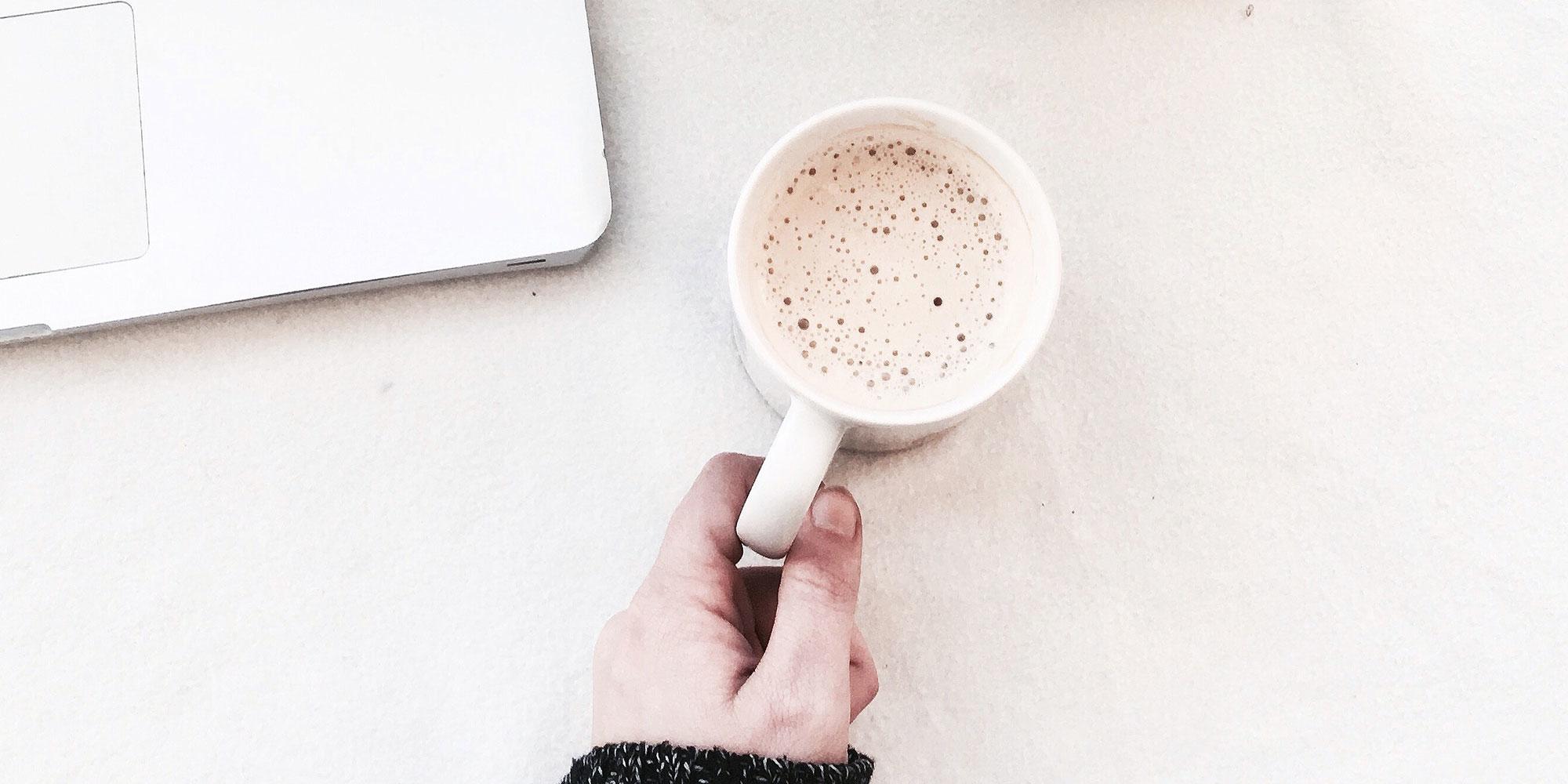簡單入喉膠原蛋白防彈拿鐵咖啡