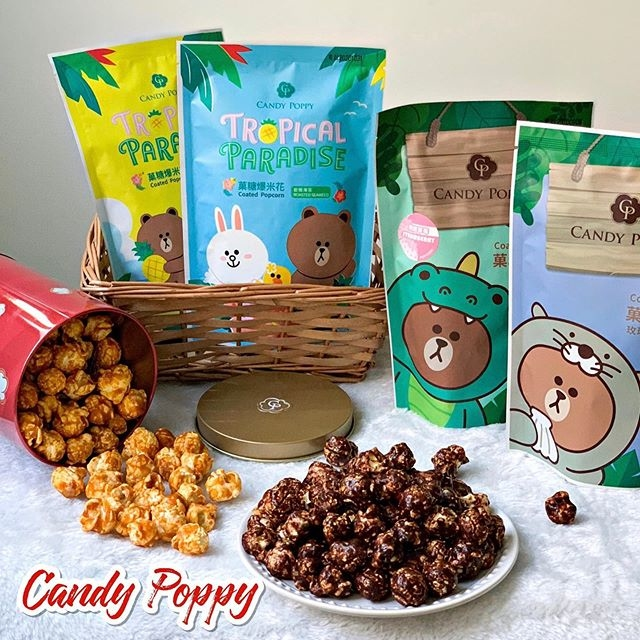 CANDY POPPY 爆米花系列商品