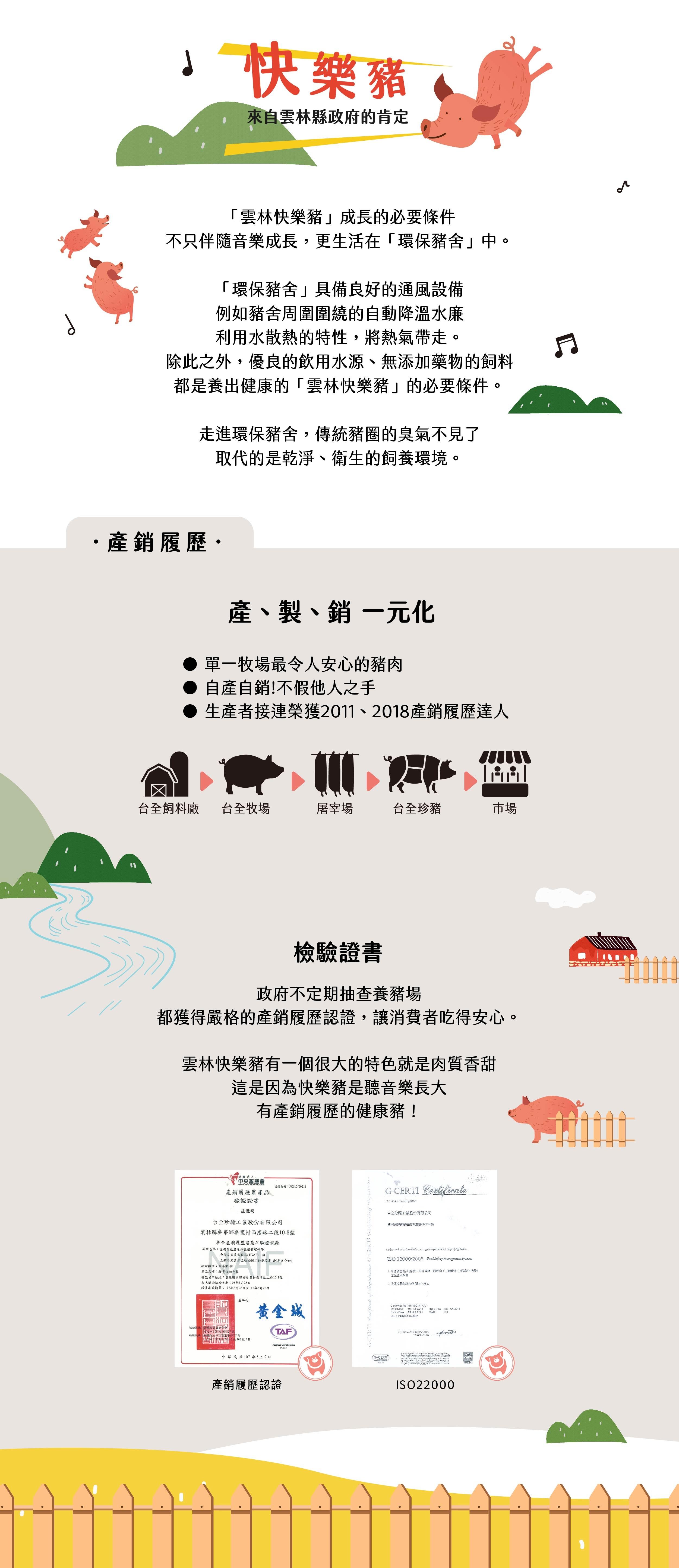 台全環保乾淨豬舍,聽音樂長大的豬,優質台灣豬肉
