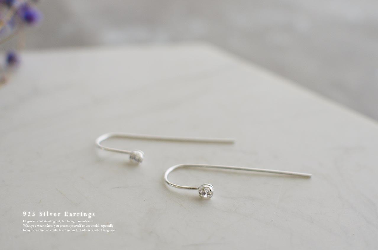 螢火蟲純銀耳環